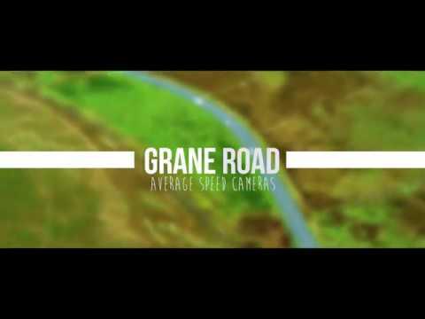 Grane Road average speed camera technology