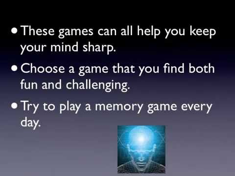 Brain Games: 3 Free Easy Brain Games for Adults