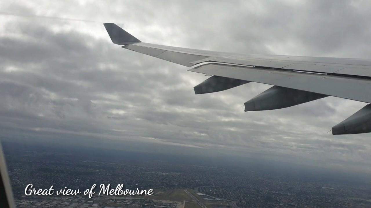 Full flight melbourne to manila via Philippine Airlines (PR 210)