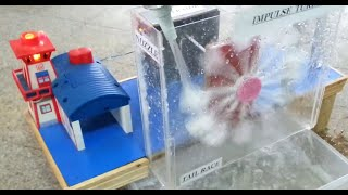 Working Model of Hydro Electric Power Plant by DawoodUET Students