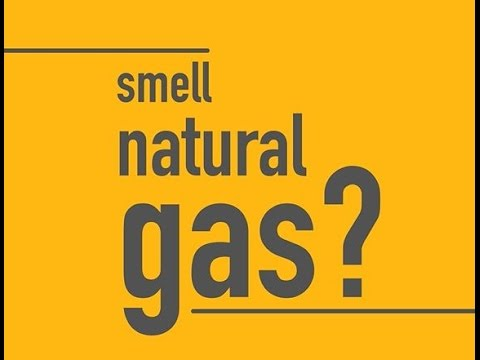 What does natural gas smell like?