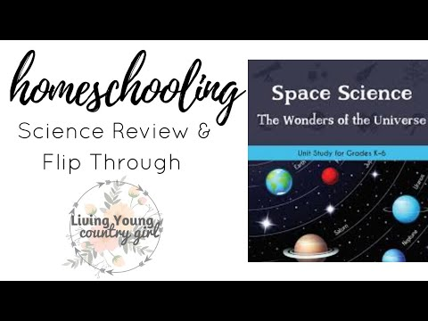 The Good and The Beautiful Curriculum  || Sceince : Space Unit