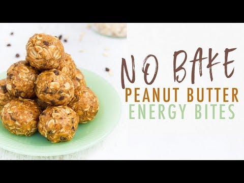 No Bake Peanut Butter Energy Balls