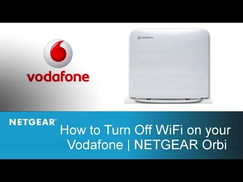 How to turn Off WiFi on your Vodafone | NETGEAR Italian