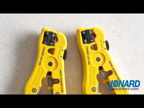 Jonard Tools Universal Cable Stripping Tool (UST-500 & UST-596)