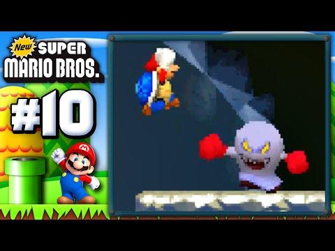 New Super Mario Bros. DS! (100%): Ep. 10   Blue Shell, NOOO!!! (GAMEPLAY WALKTHROUGH)