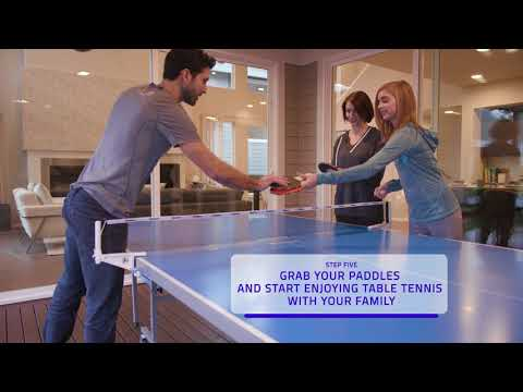 Assembly Video | Harvil Outsider Table Tennis Table | Dazadi.com