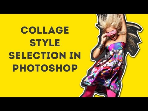 Collage Style Selection in Photoshop