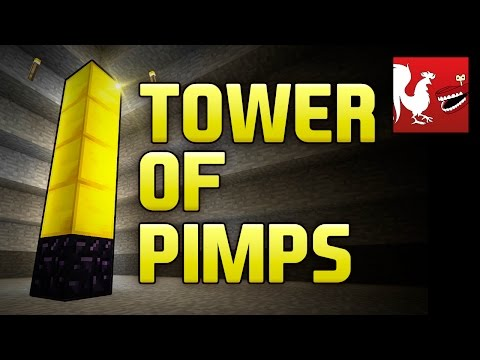 Minecraft Rap - Tower of Pimps (T.O.P.) | Rooster Teeth