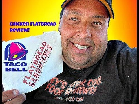 Taco Bell® Chicken Flatbread Sandwich REVIEW!