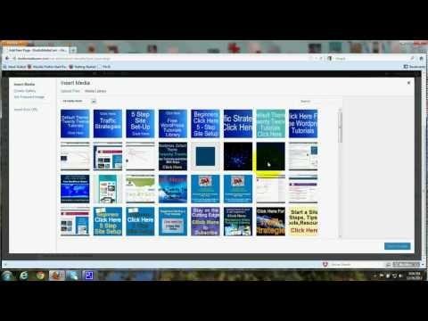 WordPress Media Library, Upload Images, Photos - Wordpress, Twenty Twelve - Tutorial