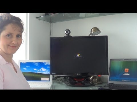 Mum tries out Windows Longhorn Build 4074 (2004)