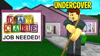 I Worked At A CREEPY Daycare.. What I Cleaned WILL SHOCK YOU! (Roblox)