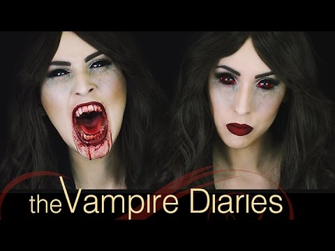 'The Vampire Diaries' Katherine Pierce Inspired Makeup Tutorial | Courtney Little