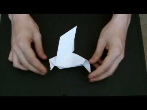 How To Make An Origami Peace Dove [HD]
