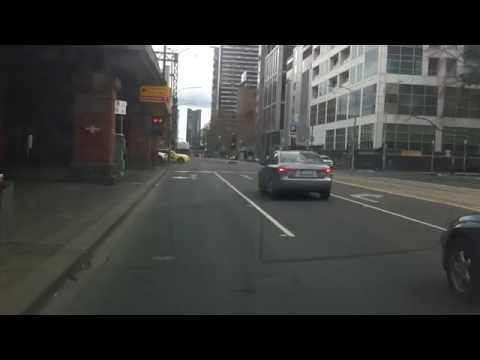 Flinders Street And William Street, Melbourne red light camera