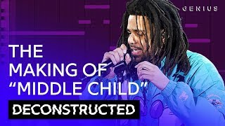 """The Making Of J. Cole's """"MIDDLE CHILD"""" With T-Minus 