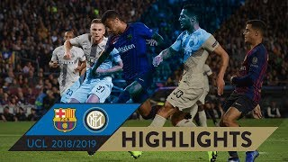 BARCELONA 2-0 INTER | HIGHLIGHTS | Matchday 03 - UEFA Champions League 2018/19