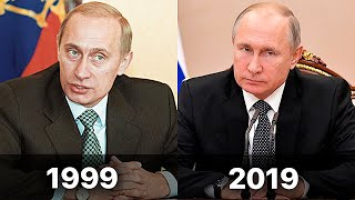 How Vladimir Putin was changing by 20 years of Power on videos. Putin new Style.