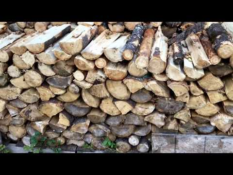 Pallet Firewood Rack - How To Make DIY Easy Free / Cheap Cord Wood Rack