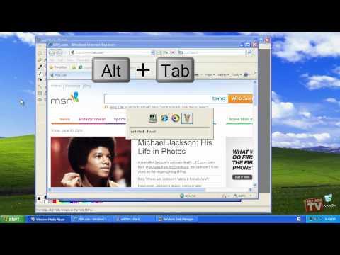 Finding A Hidden Window In Windows XP Using A Keyboard Shortcut
