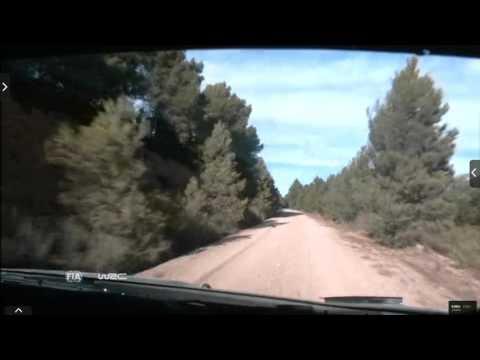 Onboard Kubica rally Catalunya-costa Daurada ss8 2015