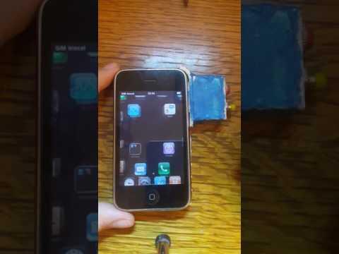 Iphone 3G/3GS home/lock button bypass