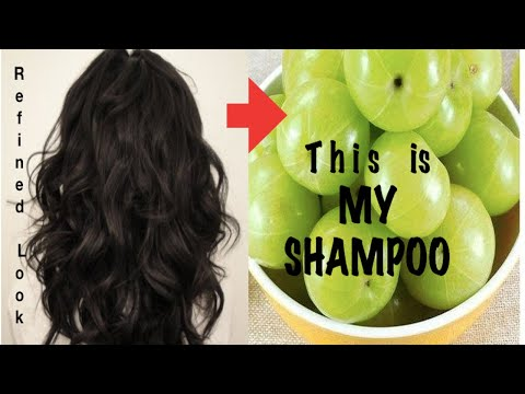 Homemade Herbal Shampoo  -  oily hair, dry hair, hair fall,  smooth hair, silky hair