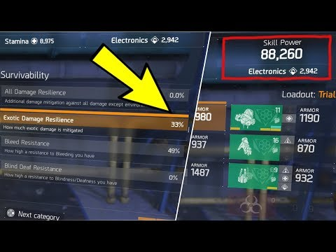 TWO THINGS YOU MUST FIX ON YOUR BUILD AFTER PATCH... (THE DIVISION)