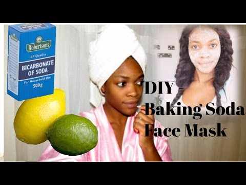 D.I.Y Baking Soda Face Mask - For Clear Skin
