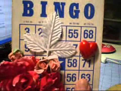 altered bingo card for rosemary