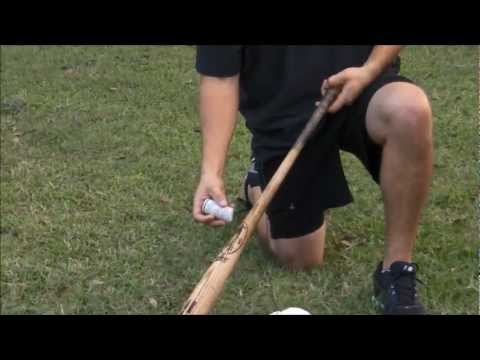 How to apply pine tar to a baseball bat
