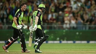 Highlights: Thunder v Stars - BBL06