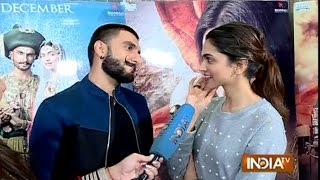 Bajirao Mastani: Deepika Padukone and Ranveer Singh Exclusive Interview