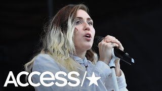 Miley Cyrus Returns To Music With Mark Ronson