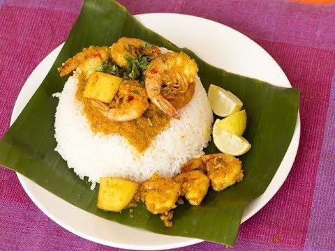 Goan Prawn Curry with Raw Mango/ Goan cuisine