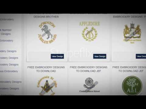How to Download Free Embroidery Designs-By Embroidery Khazana