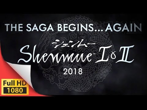 Shenmue 1 & 2 re release on PS4 PC XOne