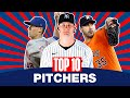 Top 10 Pitchers Starters And Relievers MLB Top Players Gerrit Cole Justin Verlander Others