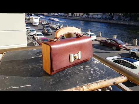 Leather & Wood bag