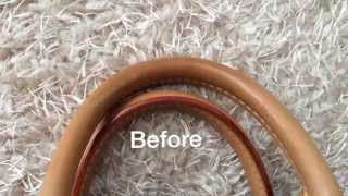 How to clean Louis Vuitton Bags?,How to clean Vachetta leather?