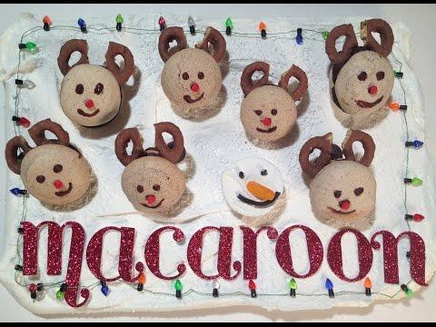 Reindeer Macaroons