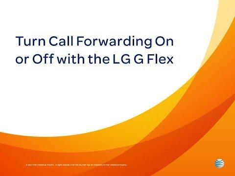 LG G Flex : Turn Call Forwarding On or Off