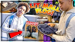 LIT SHOPPING MALL VLOG🔥💰 + BUYING MY FIRST PAIR OF CROCS!😱 || *I THINK I'M IN LOVE*😍