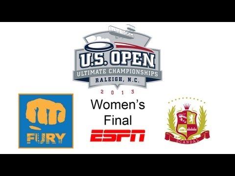 Fury vs Scandal (Women's Final) - 2013 U.S. Open Championships