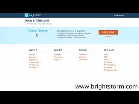 BrS for Schools screencast