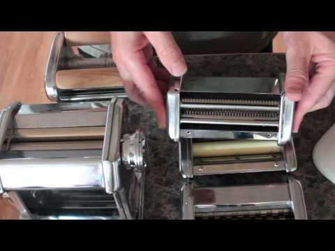 Homemade Spelt Pasta using Atlas Pasta Maker