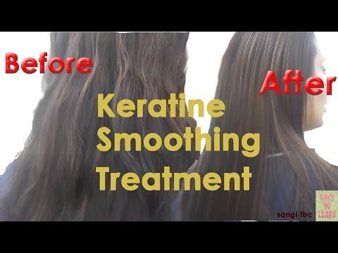Keratin Shine Smoothing Hair Treatment in Hindi||hair transformation-Sangie fbc
