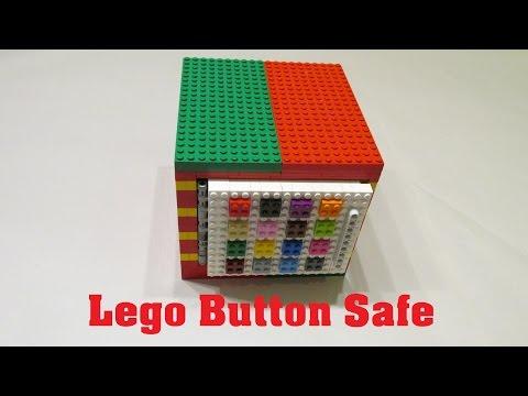 Lego Button Safe (4x4)