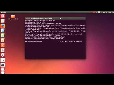 Cara Install Aplikasi google chrome DI ubuntu